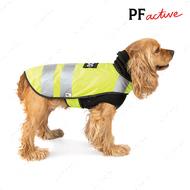 Жилет для собак с теплым флисовым свитером в комплекте WARM YELLOW VEST