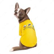 Футболка Pet Fashion Галактика для собак желтая