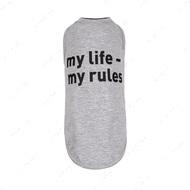 Борцовка для собак my life - my rules меланж