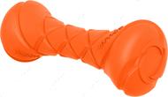 Игрушка для собак гантель оранжевая
