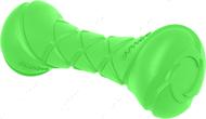 Игрушка для собак гантель зеленая