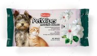 "Влажные салфетки с ароматом белого мускуса для собак кошек ""PET WIPES MUSCHIO BIANCO"""