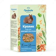 Корм природа Кролик + биотин для декоративных кроликов
