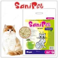 """""""Sani Pet"""" Наполнитель древесный """"Яблоко"""" для кошек"""