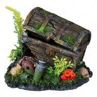 """""""Сундук с сокровищами"""" -декор для аквариума, 17 см"""