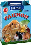 «Рацион для средних грызунов» Корм для средних грызунов, 1.5 кг