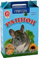 «Рацион для шиншилл» Корм для шиншилл и других экзотических грызунов, 1.5 кг