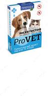 """""""Инсектостоп"""" - капли против эктопаразитов для взрослых кошек и собак, на основе фипронила """"ProVet"""""""