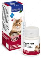 """""""Празистоп ProVet"""" антигельминтный препарат для кошек и собак в виде капель"""