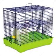 Клетка для грызунов с колесом Микки