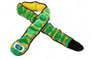 Игрушка с пищалкой для собак змея зеленая Outward Hound Invincibles Snakes