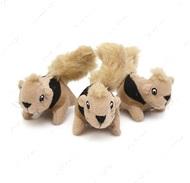 Игрушка с пищалкой для собак белки Hide-A Refill Animals Outwardhound Squeakin Squirrels