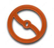 Сверхпрочная игрушка для собак кольцо оранжевое Bionic Opaque Toss-N-Tug Org