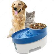 """""""Pets Water Fountain"""" Автопоилка фонтан с миской для корма для котов и собак"""