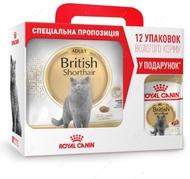 АКЦИЯ!!! Сухой корм для взрослых кошек породы Британская короткошерстная Breed British Shorthair adult