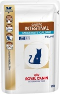 Лечебная диета для кошек при нарушении пищеварения Gastro Intestinal Moderate Calorie