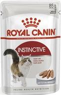 Влажный корм для кошек старше 1 года паштет INSTINCTIVE wet in loaf