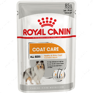 Полнорационный влажный корм для собак всех пород с тусклой и жесткой шерстью COAT BEAUTY LOAF