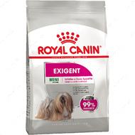 Полнорационный корм для собак весом до 10 кг, привередливых к корму Exigent Mini
