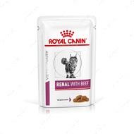 Лечебная диета для кошек при заболеваниях почек Renal with beef Feline