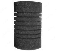 Фильтрующий материал губка средне пористая цилиндрическая 35ppi RESUN