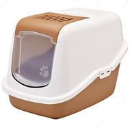 Закрытый туалет для котов Savic Nestor Nordic Light brown
