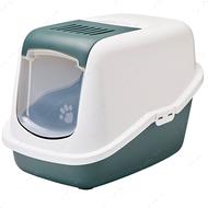 Закрытый туалет для котов Savic Nestor Nordic Gray-green