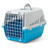 Переноска для собак и котов - голубая Savic Trotter1