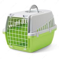 Переноска для собак и котов - зеленая Savic Trotter1