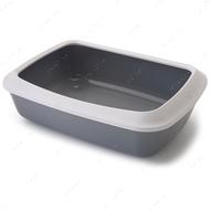 Лоток туалет с бортиком для котов Savic Iriz Cat Litter Tray
