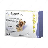 Капли Стронгхолд для собак от 2,6 до 5 кг Stronghold