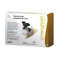Капли Стронгхолд для собак от 5,1 до 10 кг Stronghold