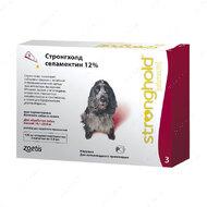 Капли Стронгхолд для собак от 10 до 20 кг Stronghold