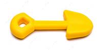 Игрушка для собак ЛОПАТА - SHOVEL ULTRA DURABLE NYLON DOG CHEW TOY FOR AGGRESSIVE CHEWERS - YELLOW