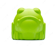 Игрушка для собак ЛЯГУШКА MKB BULL FROG DURABLE RUBBER CHEW TOY & TREAT DISPENSER - LARGE - GREEN