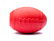 Игрушка для собак MKB FOOTBALL DURABLE RUBBER CHEW TOY AND TREAT DISPENSER - LARGE - RED