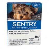 СЕНТРИ капли от блох, клещей и комаров для собак весом до 7 кг