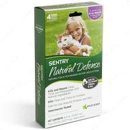 Капли от блох и клещей для кошек и котят всех пород НАТУРАЛЬНАЯ ЗАЩИТА Natural Defense