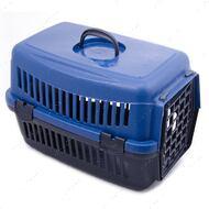 Переноска для кошек и собак синяя SG