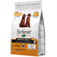 Сухой корм монопротеиновый для собак средних пород c курицей Schesir Dog Medium Adult Chicken
