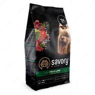 Сухой корм из свежего мяса ягненка для собак малых пород Savory Fresh Lamb Adult Small Breeds
