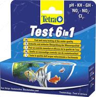 Средство для тестирования воды Test 6 in1 Tetra