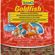 Сухой корм для аквариумных золотых рыбок в хлопьях GOLD FISH Tetra