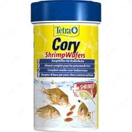 Сухой корм для донных аквариумных рыб в пластинах Cory Shrimp Wafer Tetra