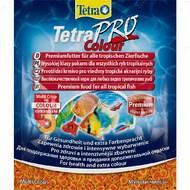 Сухой корм для аквариумных рыб в чипсах PRO Colour Tetra