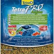 Сухой корм для травоядных аквариумных рыб в чипсах PRO Algae Vegetable Tetra