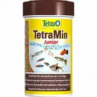 Сухой корм для молодых аквариумных рыб в хлопьях MIN Junior Tetra