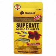 Сухой корм для всех видов аквариумных рыб в гранулах SuperVit MINI Granulat TROPICAL
