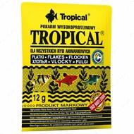 Сухой корм для всех видов аквариумных рыб в хлопьях Tropical TROPICAL