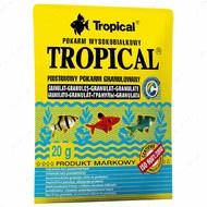 Сухой корм для всех видов аквариумных рыб в гранулах Tropical Granulat TROPICAL